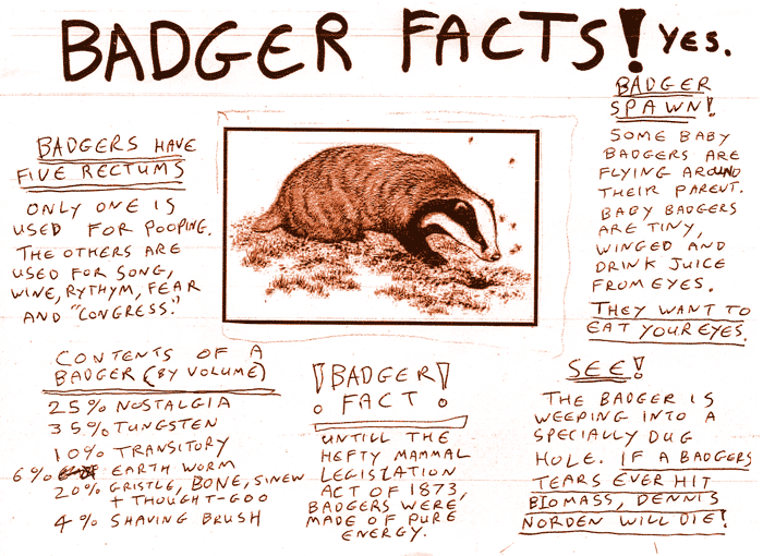 Badger Facts and Breaking News - Mobile Meat Machines